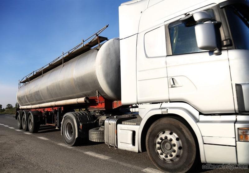 Tanker Endorsement Test - Tanker Practice Test | CDL Knowledge